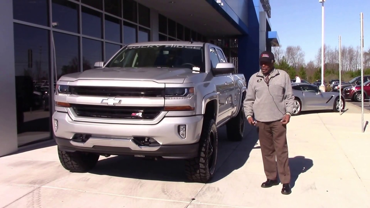 2017 Chevrolet Silverado 1500 Double Cab 4-Wheel Drive LT ...