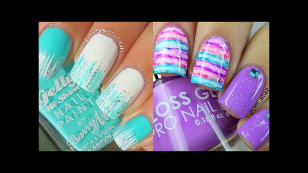 Uñas para primavera verano tendencia es colores de uñas - YouTube