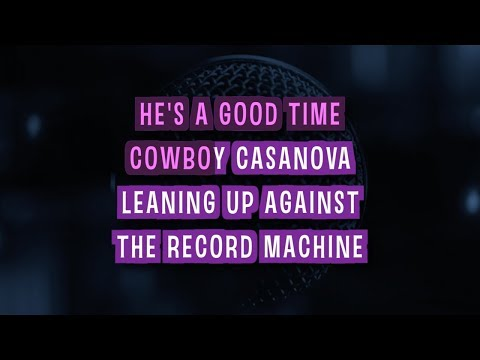 Cowboy Casanova Karaoke Version by Carrie Underwood (Video with Lyrics)