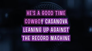 Cowboy Casanova (Karaoke Version) - Carrie Underwood | TracksPlanet