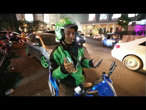 Popular app takes Indonesia's 'ojek' bike taxis online
