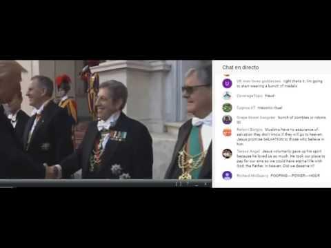 LIVE President Donald Trump Italy Speech Pope Francis Vatican City Ceremony Mattarella Rome
