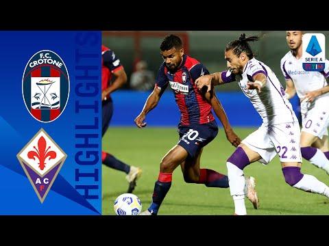 Crotone Fiorentina Goals And Highlights