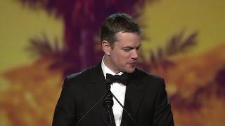 "Matt Damon Will Make Ben Affleck Call Him ""The Chairman""   Palm Springs Film Festival 2016"