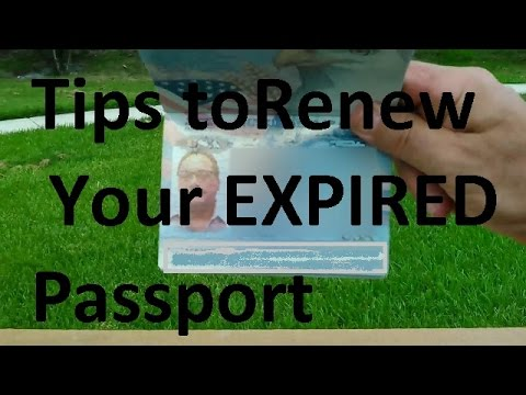 USA Passport Info Help With Expired Date