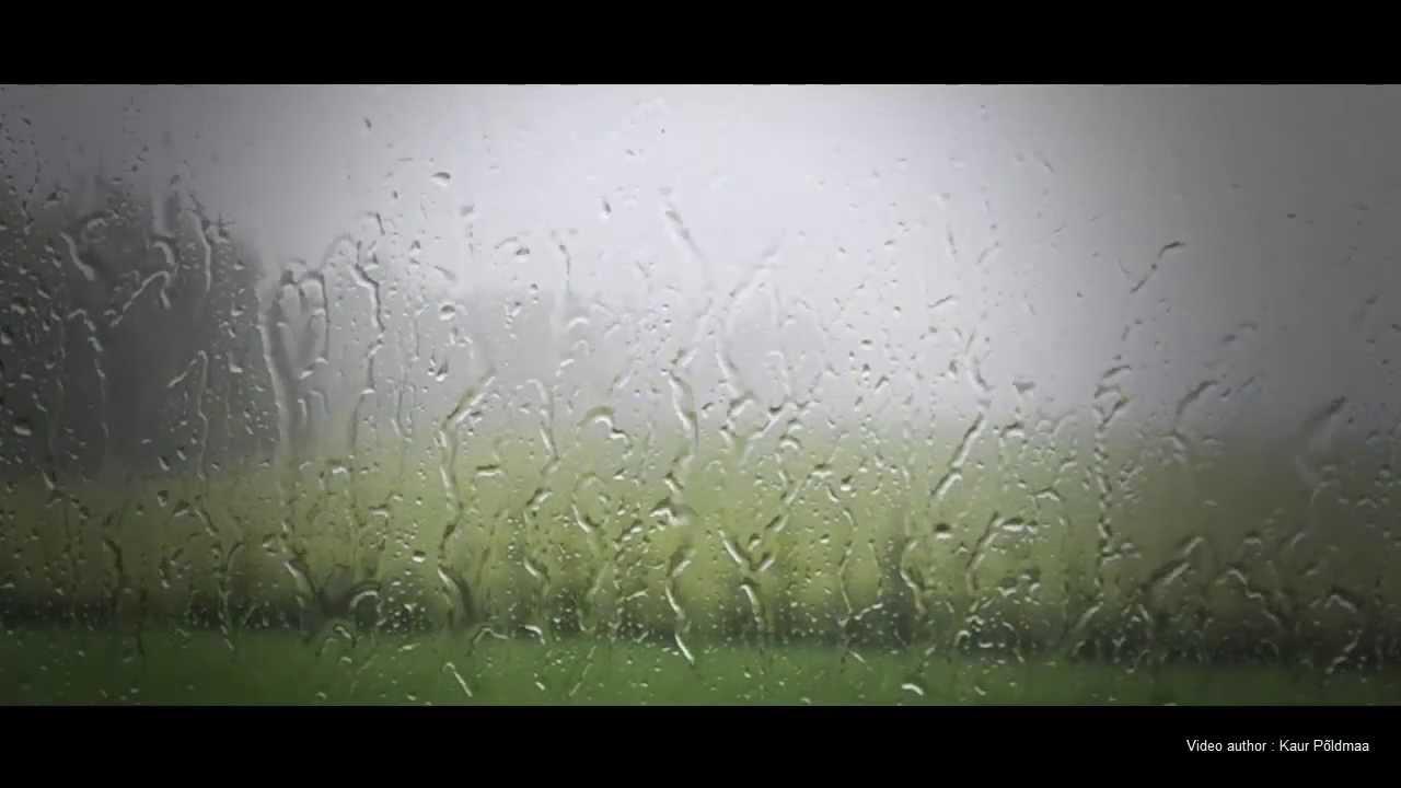 Дождь окне на картинку