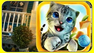 Новая ИГРА Симулятор Кошки для Android Котик БАРСИК в поисках ПРИКЛЮЧЕНИЙ Часть 1 Мультик про котят