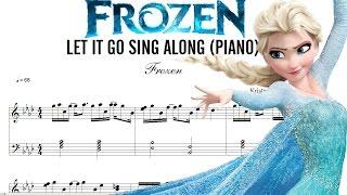 DESCARGAR Partitura de FROZEN, Let It Go Sing Along, (DOWNLOAD Score)