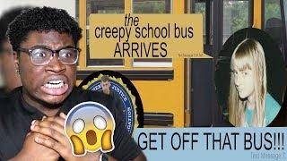 The creepy school bus arrives group text story!