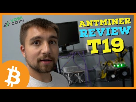 The Latest Bitcoin BTC Miner! Bitmain Antminer T19 84 Th/s Review