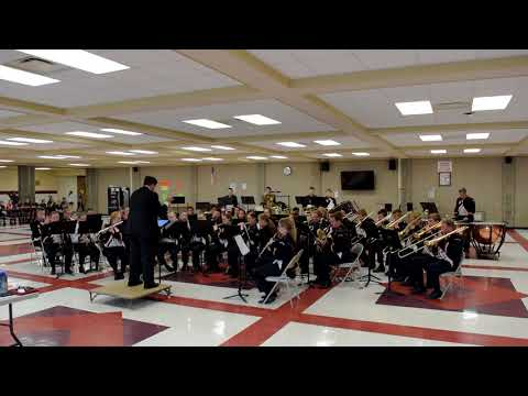 Marion High School Sr Concert Band At 2018 Sherburne Pageant Of Bands