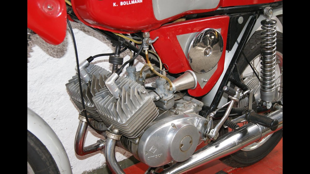 simson s50 2 zylinder 15 ps twin motor 125ccm tuning