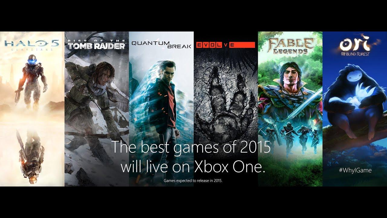 xbox one les meilleurs jeux de 2015 ont choisi leur console youtube. Black Bedroom Furniture Sets. Home Design Ideas