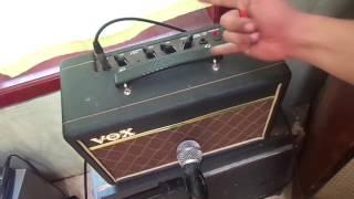 VOX Pathfinder 10 guitar amplifier checksound