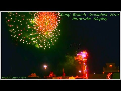 Long Branch Oceanfest 2014 Fireworks Display.