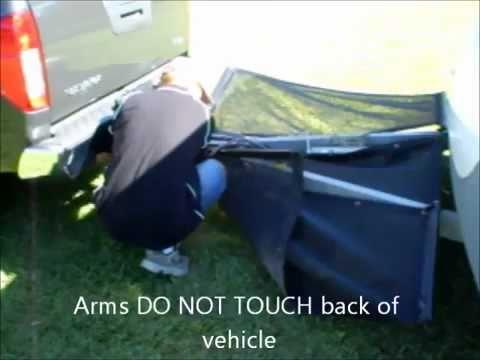 Stop caravan or trailer damage from stones & rocks