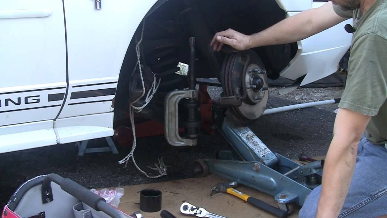 Mustang Ball Joint 1of3 Youtube