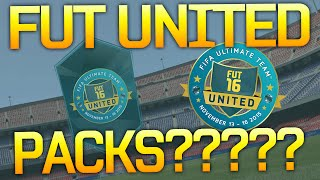 FUT United Packs?????