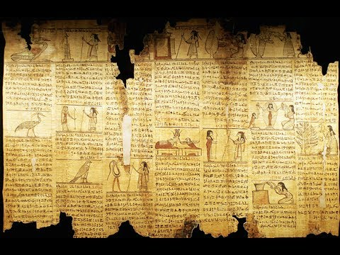 Ancient, Egyptian Book of the Dead, Could be Older than Sumerian Tablets, Spells 1-13, Thoth