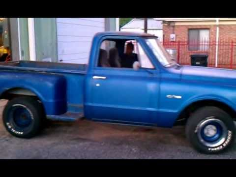 1970 Chevy C10 stepside - YouTube