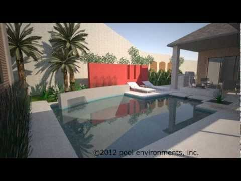 A Modern Pool Design in Coppell, Texas, by Pool Environments