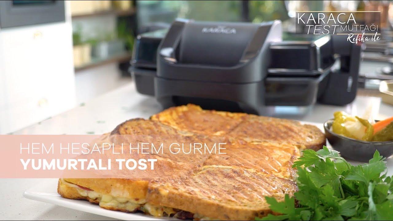 Hem Hesaplı Hem Gurme Yumurtalı Tost Tarifi | Karaca Test Mutfağı