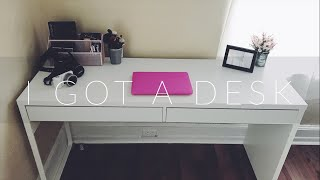 PUTTING TOGETHER MY DESK l time-lapse