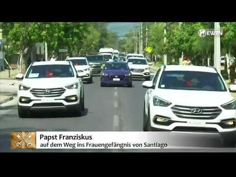 EWTN.TV: Papst Franziskus in Chile - Besuch im Frauengefängnis von Santiago (16.01.2018)
