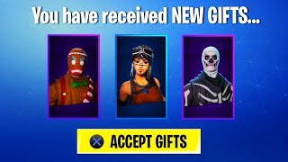 RENEGADE RAIDER SKIN RETURNS with the NEW *GIFTING SYSTEM* UPDATE! (Fortnite Gifting System)