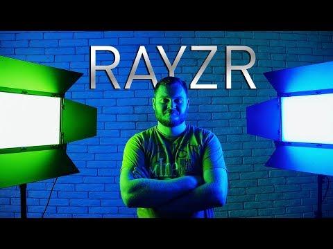 RAYZR - конкурент ARRI в 2 раза дешевле? Обзор панелей Rayzr MC200 и френеля Rayzr 7 Fresnel