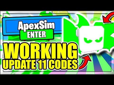 ALL *NEW* SECRET OP WORKING CODES! 🖱️LUCK CLICK UPDATE 11🖱️ Roblox Apex Simulator