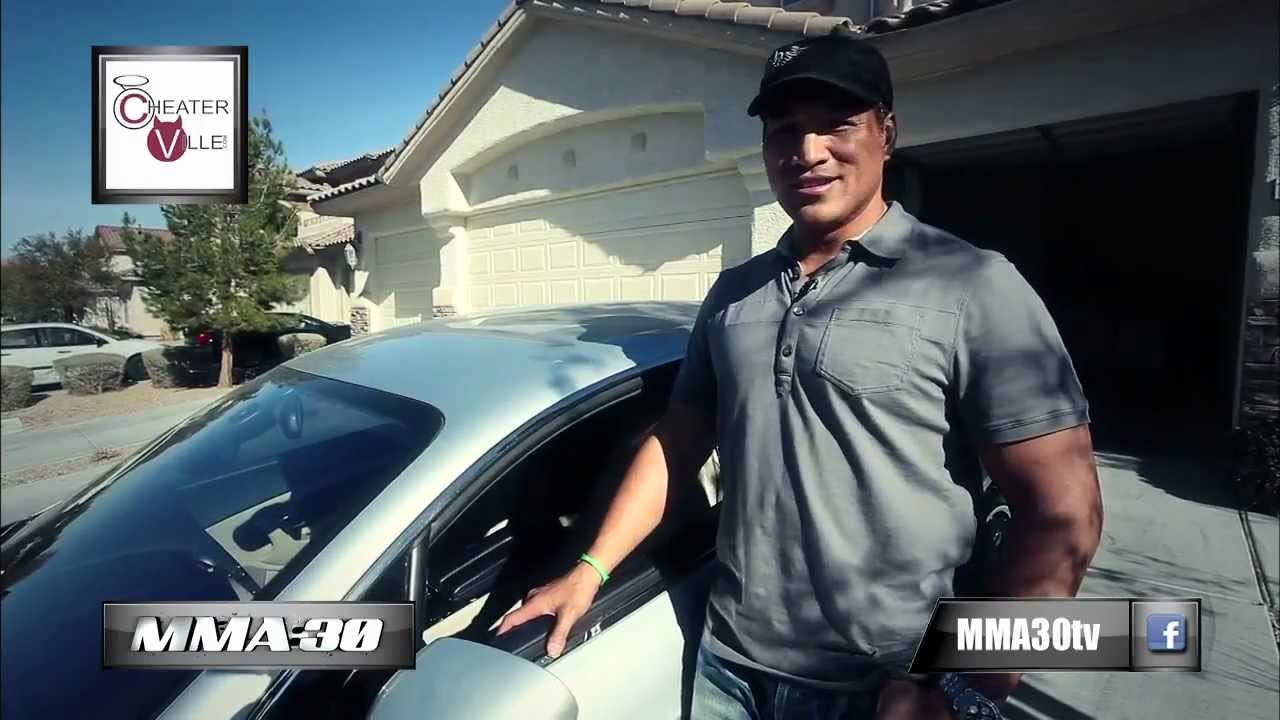 mma 30 ray sefo shows off his bentley youtube. Black Bedroom Furniture Sets. Home Design Ideas