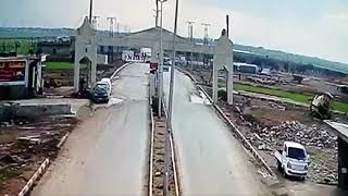 Pulwama accident ki cctv video