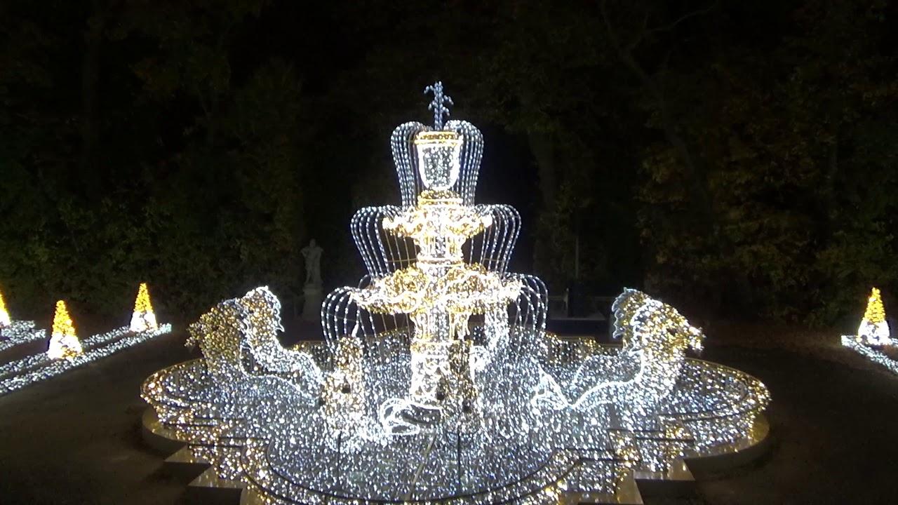 Królewski Ogród światła Wilanów 2018