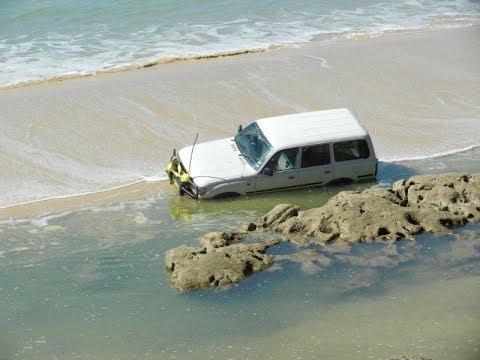 4x4 Extreme Sand  Fail Adventure - Australia 4wd Toyota Prado & Fortuner DJI MAVICPRO