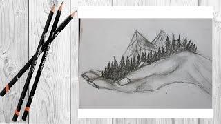 как нарисовать руку /большой добрый великан/how to draw the hand of the giant(Ну вот видео на канале!!! Думаю тебе оно понравится и ты поставишь лайк     И Подпишишся на мой канал ✓-..., 2016-07-25T09:51:44.000Z)
