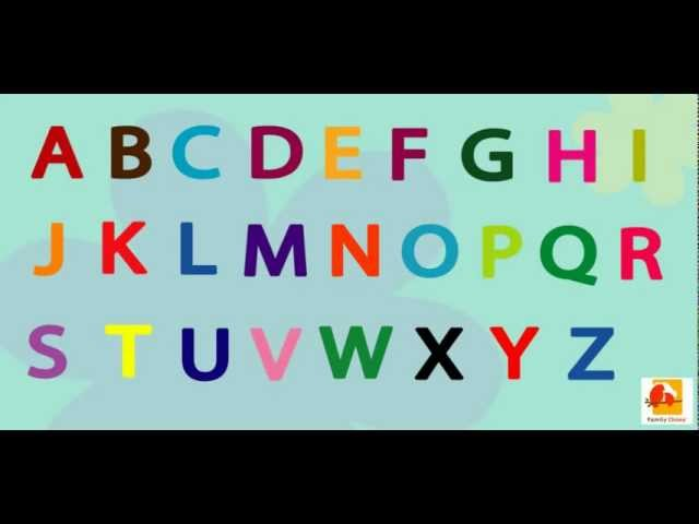 The ABC Song Childrens Alphabet Sing Along for Kids Babies Fun and Educational