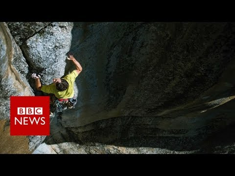 El Capitan speed climbing record smashed - BBC News