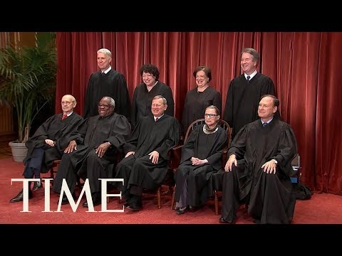 U.S. Supreme Court Justices Pose For 2018 Class Photo | TIME
