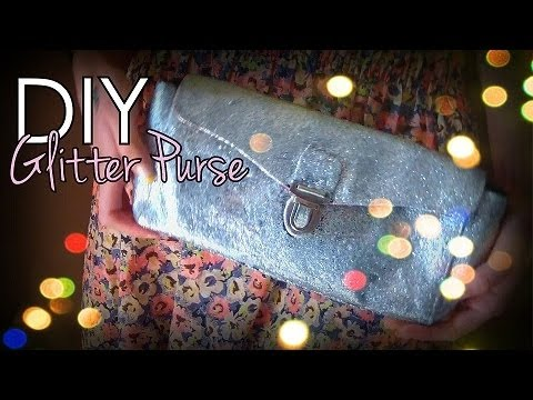 Easy DIYGlitter Clutch/Purse♥--- Glam up an old purseYouTube
