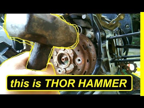 Cara Melepas Magnet Motor Tanpa Treker