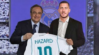 Eden Hazard Welcome To Real Madrid? Confirmed Summer Transfers 2018 ft. Ronaldo, Torres |HD