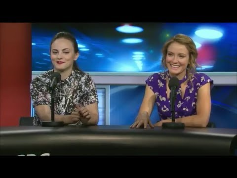 Murdoch Mysteries  Hélène Joy and Georgina Reilly at CBC Live @ TIFF Day 2 extract