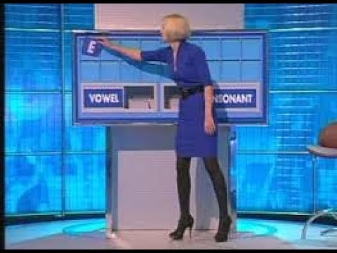 Rachel Riley's first Countdown