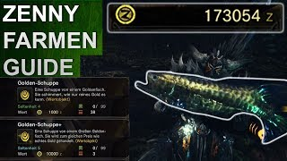 Monster Hunter World: Geld / Zenny farmen Guide (Deutsch/German)