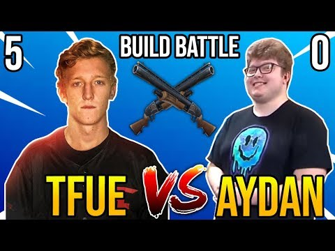 Tfue vs Ghost Aydan REMATCH in 1v1 Creative Build Battles - Best PC Player vs Best Console Player
