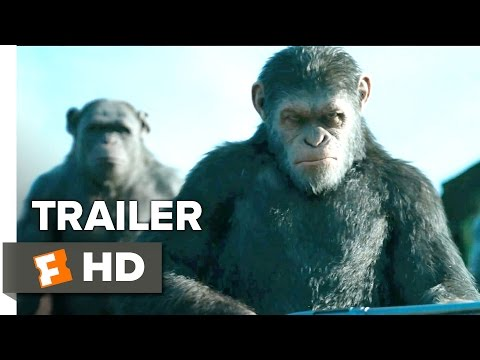 War for the Planet of the Apes Official Trailer #1