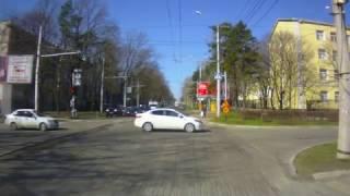Догнал из за ремонта дороги. Ставрополь.
