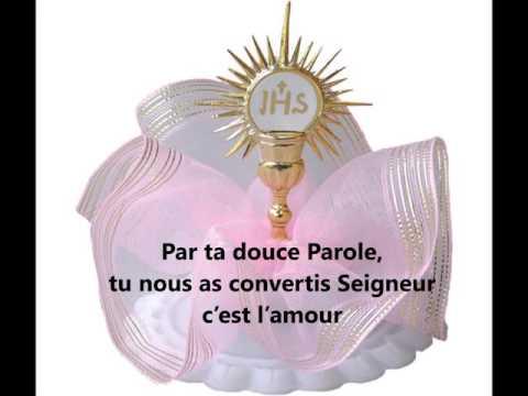 Vive l'Eucharistie d'amour Lyrics HD