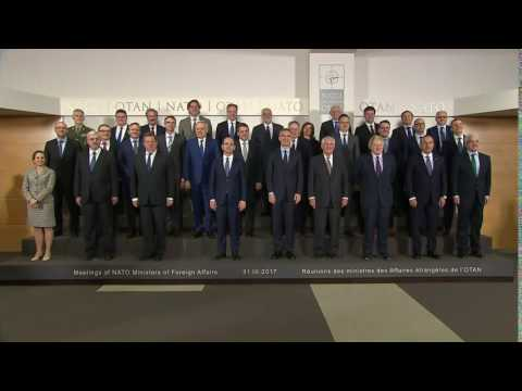 NATO Family Photo in Brussels